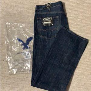 American eagle jeans men's size 38W 36L boot cut